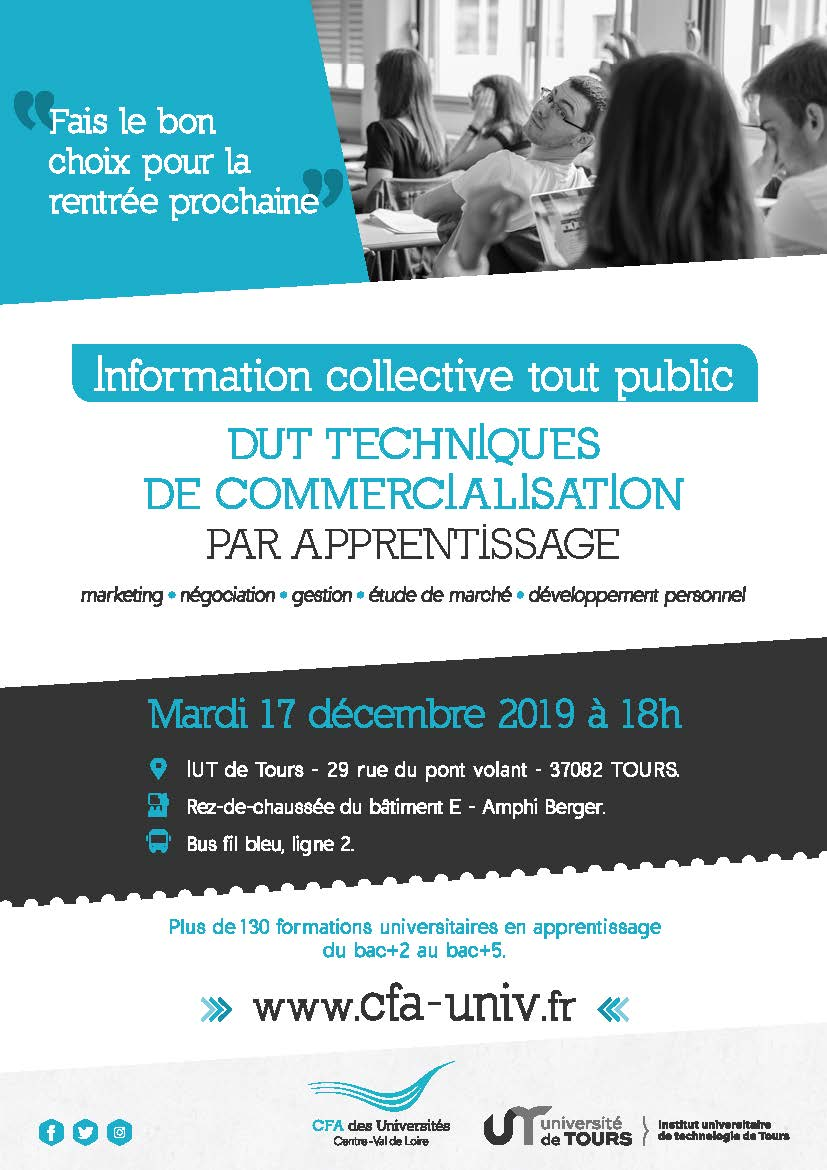 DUT TC apprentissage