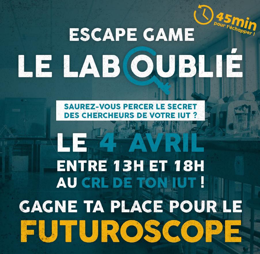 Affiche escape game