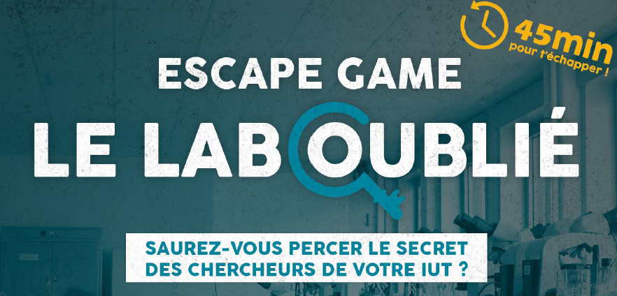 Escape game IUT de Tours