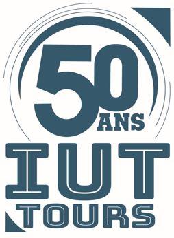 logo 50 ans iut tours